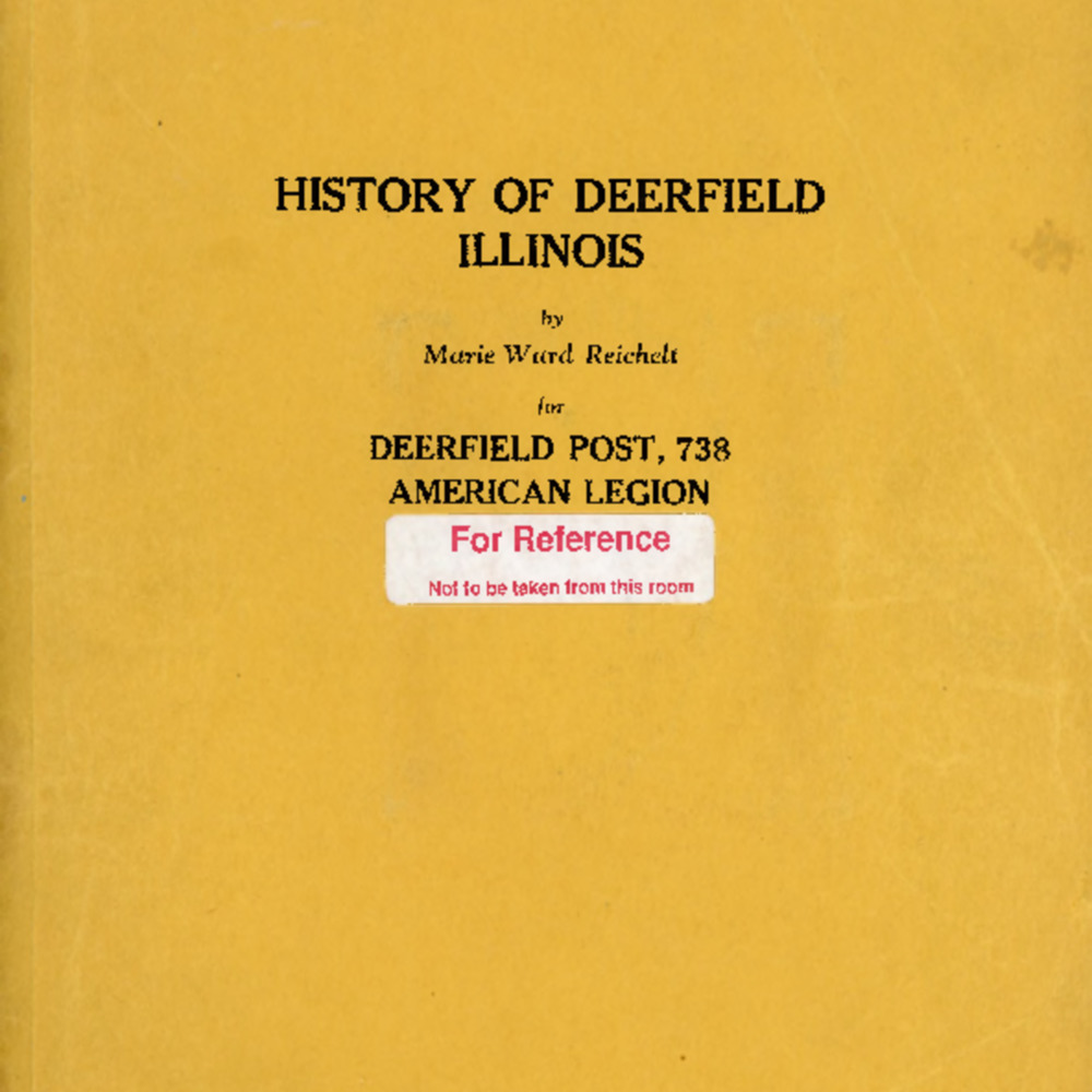 DPL.0005.001 History of Deerfield Illinois by Marie Ward Reichelt Searchable PDF.pdf