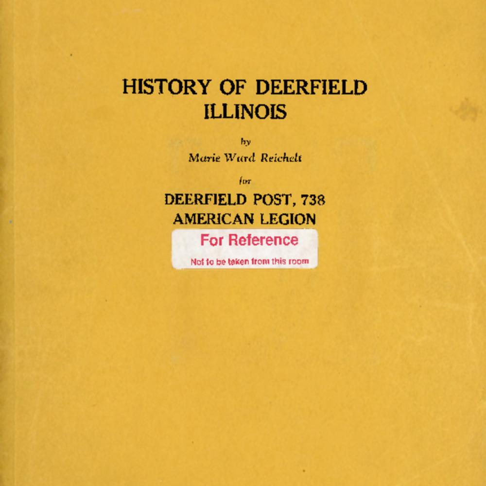 History of Deerfield Illinois